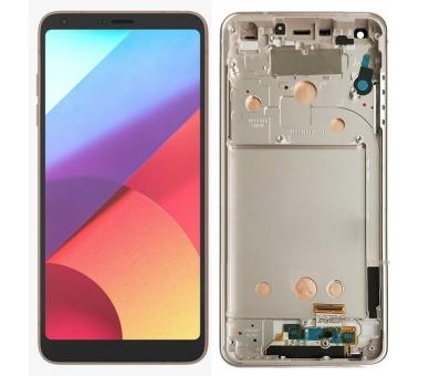 Display For LG G6, Color Gold, With Frame ARREGLATELO - 1