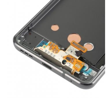 Origineel volledig scherm met frame voor LG G6 H870 Zwart Zwart LG - 2