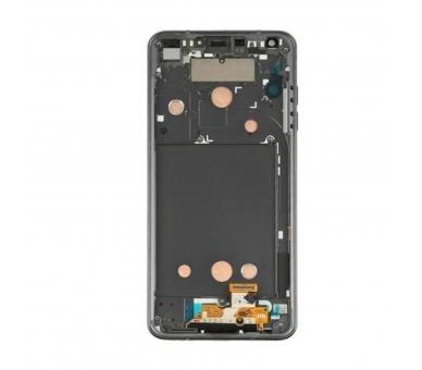 Origineel volledig scherm met frame voor LG G6 H870 Zwart Zwart LG - 3