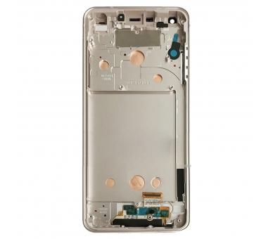 Display For LG G6, Color Gold, With Frame ARREGLATELO - 3