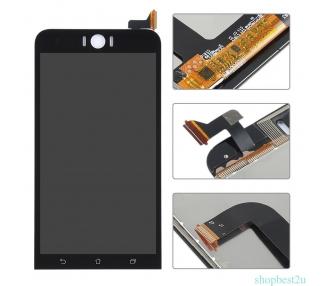 Pełny ekran dla Asus ZenFone Selfie ZD551KL Czarny Czarny