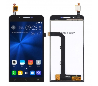 Display For Asus Zenfone GO, Color Black ARREGLATELO - 1