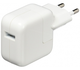 CARGADOR APPLE ORIGINAL USB DE 12W MD836ZM/A IPAD 2 3 4, AIR 2 MINI 1 2 RETINA 3