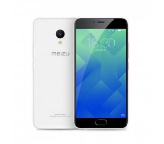 """Meizu M5 - Czterordzeniowy rdzeń 5.2 A53 1 GHz 16 GB 2 GB Biały """""""