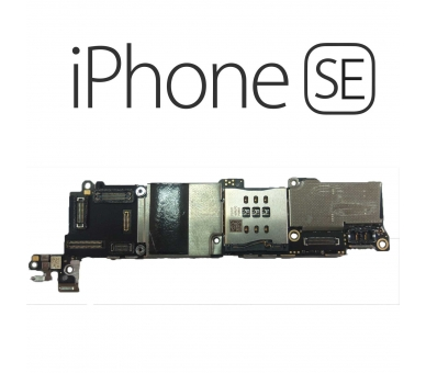 Motherboard for iPhone SE | 16GB | Without Home Button | Unlocked Apple - 1