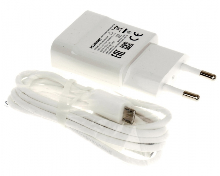 Huawei HW-059200EHQ Charger + Micro USB Cable - Color White Huawei - 1