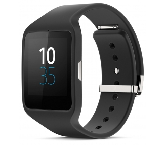 "Sony Smartwatch 3 Android 1.6 4GB Quad-Core 1.2 GHz 512 MB RAM Negro"" Sony - 1"