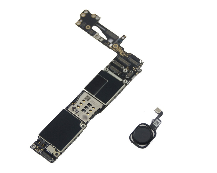Motherboard for iPhone 6 A1586 16GB With Home Button | Color Space Grey Apple - 1