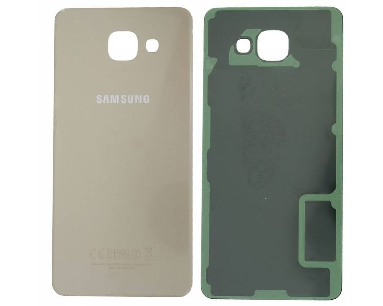 Back cover for Samsung Galaxy A5 2016   Color Gold ARREGLATELO - 1
