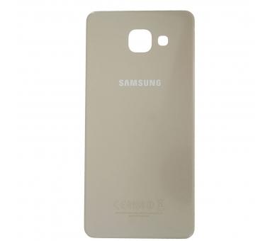 Back cover for Samsung Galaxy A5 2016   Color Gold ARREGLATELO - 3