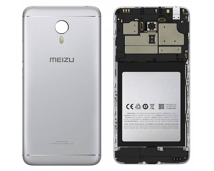 Chassis for Meizu M3 Note | Color Silver Meizu - 1