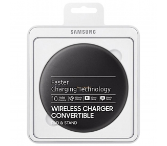 Samsung Fast Charge Wireless Charger Convertible For Galaxy S8 | Color Black