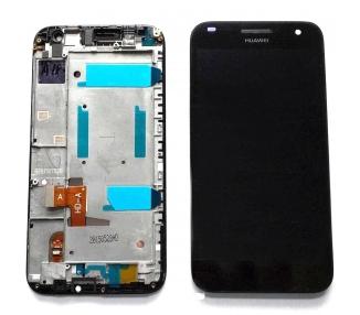 Pantalla Completa con Marco para Huawei Ascend G7 G7-L01 L03 HD-A Negro ARREGLATELO - 2