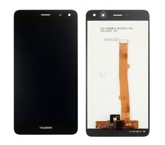 Display For Huawei Y6 2017, Color Black