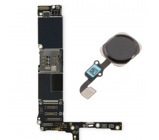 Placa Base Original para Apple iPhone 6 Plus Con touch id, Con Boton Home, 16GB Reacondicionada Perfecto Estado Libre