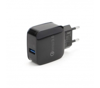 Quick Charge 3.0 Universal Charger - Color Black