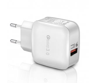 Cargador USB Carga Rápida Quick Charge 3.0 para Xiaomi Mi 5, Mi 5s, Plus, Mi 5C, Mi Mix Max, Redmi 4 4x Note