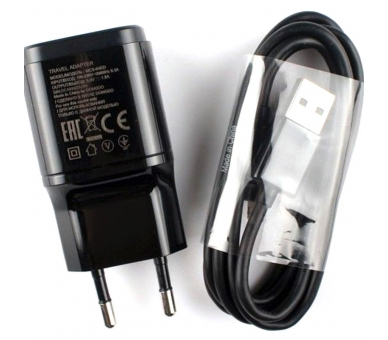 LG MCS-04ED Charger 1,8A + Micro USB Cable - Color Black LG - 1