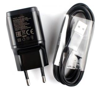 Cargador Original LG MCS-04ED 1,8 A + Cable para G2, G3, G4, Flex, Nexus, K4, K7