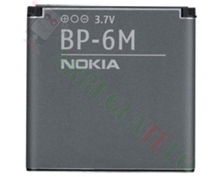 Bateria BP-6M BP6M BP 6M para NOKIA  - 1
