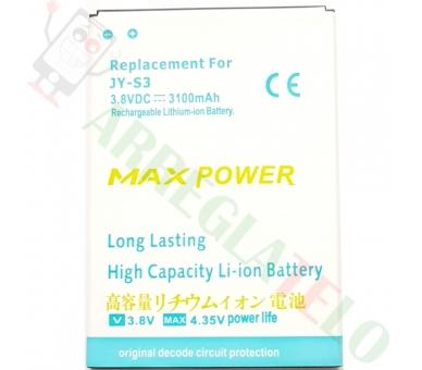 Batería para Jiayu S3 S3 Advanced S3s Plus bateria JY-S3 3100mAh REEMPLAZO ARREGLATELO - 2