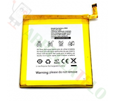 Bateria Compatible BQ Aquaris E5 4G 2850mAh - E 5 E5.0 4G  - 2