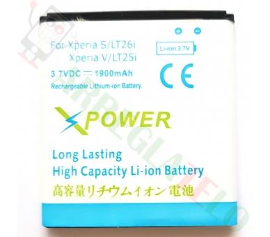 Batterij BA800 BA-800 PA Sony Xperia S LT26i ARC HD V LT25i ARC S HOGE CAPACITEIT  - 1
