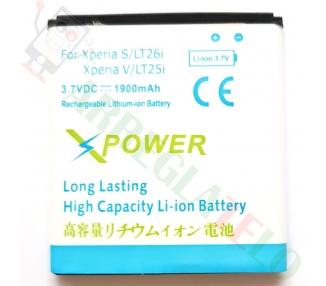 Bateria BA800 BA-800 PA Sony Xperia S LT26i ARC HD V LT25i ARC S ALTA CAPACIDAD  - 1