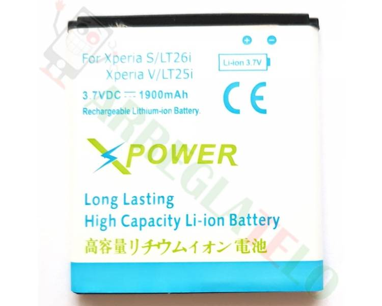 Battery For Sony Xperia S , Part Number: BA800  - 1