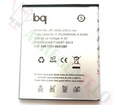 Compatibele batterij voor BQ AQUARIS 5 HD / 5HD / 5.0 HD / 5.0 HD  - 1