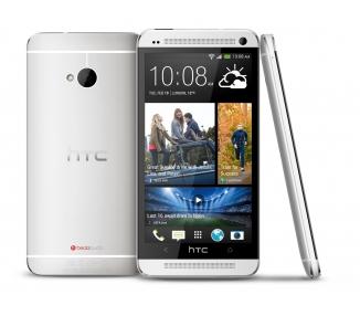 HTC ONE M7 Blanco Plata 4G 32GB ANDROID NFC - Como Nuevo - HTC - 1