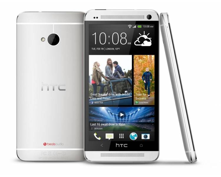 HTC ONE M7 White Silver 4G 32 GB ANDROID NFC - Jak nowy -