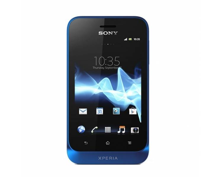 Sony Xperia Tipo Tapioca ST21 - GPS - Android - Blauw Sony - 1