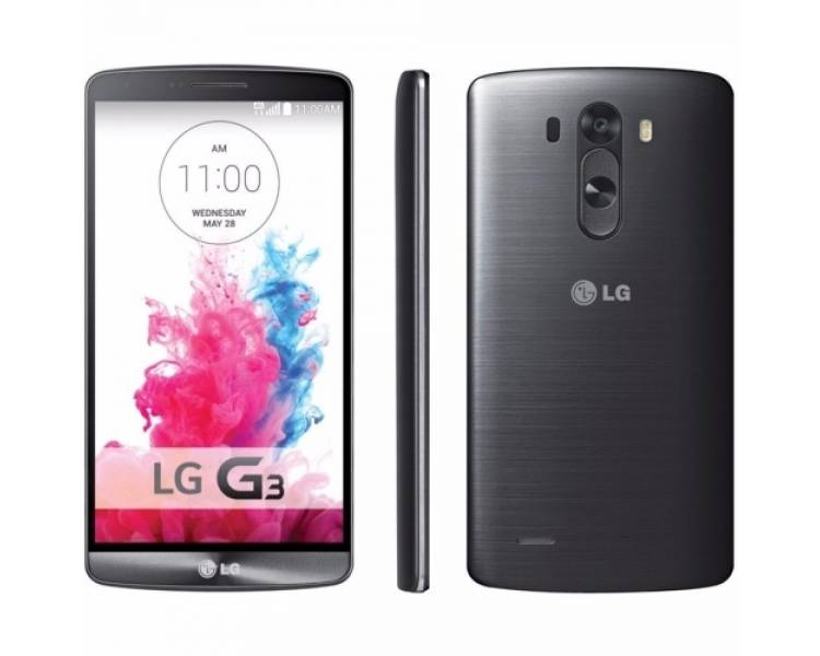 LG G3 D855 16GB Quad Core 2GB RAM 13MP NFC GPS 4G Grau LG - 1