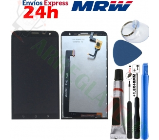Pantalla Completa para Asus Zenfone 2 Laser ZE601KL Z011D FHD Negro Negra ARREGLATELO - 1