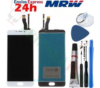 Pantalla Completa para Meizu M5 Note Blanco Blanca ARREGLATELO - 1