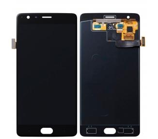 Pantalla Completa para OnePlus Three 3 Negro Negra ARREGLATELO - 2