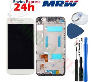Pantalla Completa con Marco para Huawei Ascend G7 L01 L03 Blanco Blanca Huawei - 1