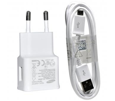 Cargador Original Samsung Galaxy S2 S3 S4 S6 Mini Note 2 4 ACE Micro USB Blanco Samsung - 5