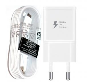 Cargador Carga Rapida Micro USB Original Samsung Galaxy S6 S7 Edge Note 4 A7 A5