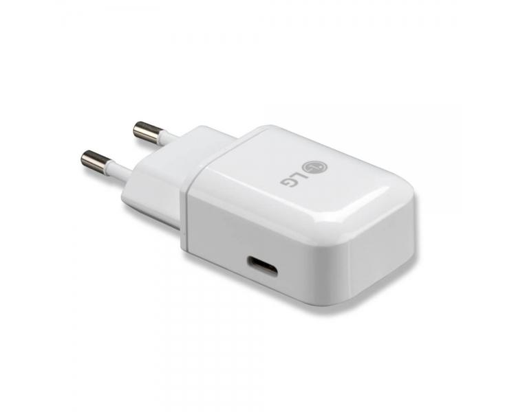 LG TAU-310 MCS-N04ER Charger - Color White LG - 1