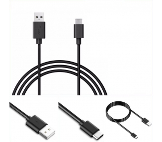 Cable USB Tipo C Original Samsung para Galaxy S8 S9 Plus A6 Note 8 7 A5 A3