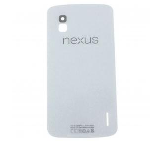Osłona tylnej obudowy baterii Oryginalna antena do LG Google NEXUS 4 E960 Biała