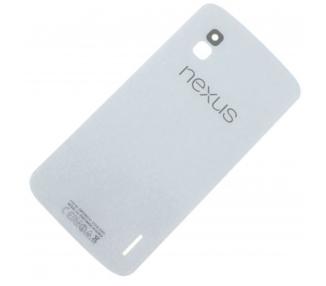 Achterste Batterij Behuizing Cover Originele Antenne voor LG Google NEXUS 4 E960 Wit