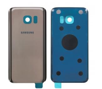 Tapa cubre bateria para Samsung Galaxy S7 Edge G935F Dorada Back Trasera