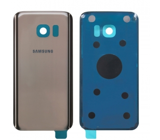 Tapa Trasera para Samsung Galaxy S7 Edge G935F Dorado Dorada Oro