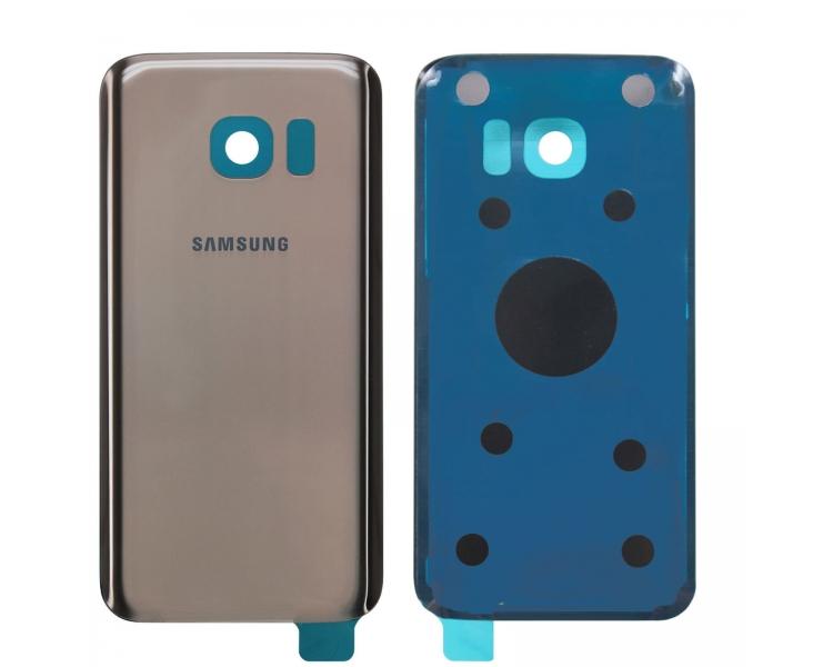 Back Cover voor Samsung Galaxy S7 Edge G935F Goud - Vervangt het origineel ARREGLATELO - 1