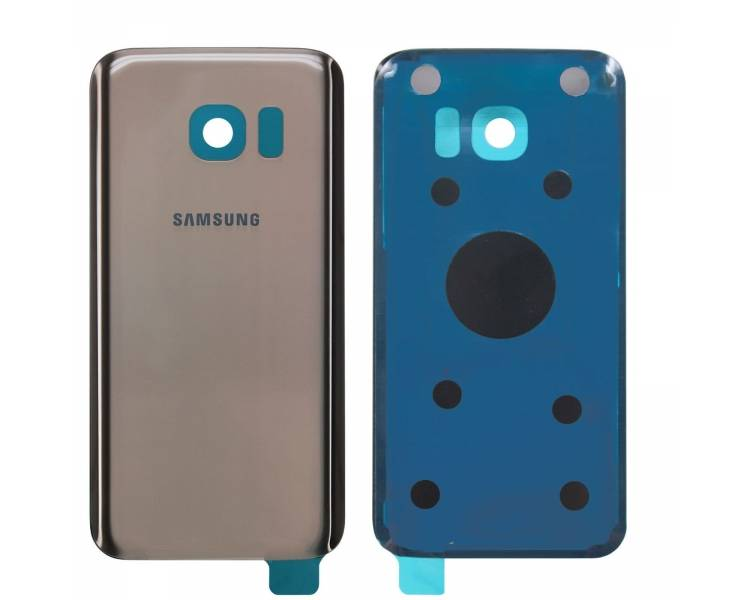 Tapa cubre bateria para Samsung Galaxy S7 Edge G935F Dorada Back Trasera ARREGLATELO - 1