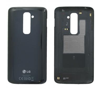 Back Cover Originele Behuizing voor LG G2 D802 Zwart Zwart LG - 1