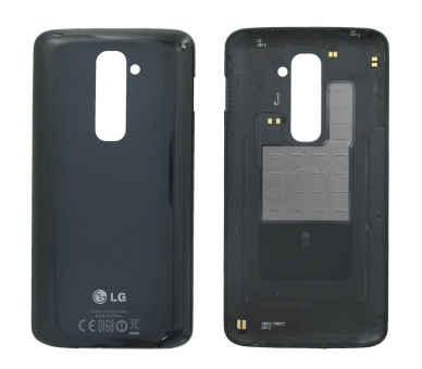 Tapa bateria Carcasa trasera Battery Cover Original LG G2 D802 Negro Negra LG - 1